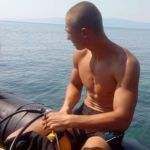 VELIKI PODVIG: Uroš Ivanković posle sedam sati i pet minuta plivanja preplivao Ohrid
