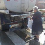 Cisterna sa pijaćom vodom i na raskrsnici ulica Rogoz i Prisjanski put