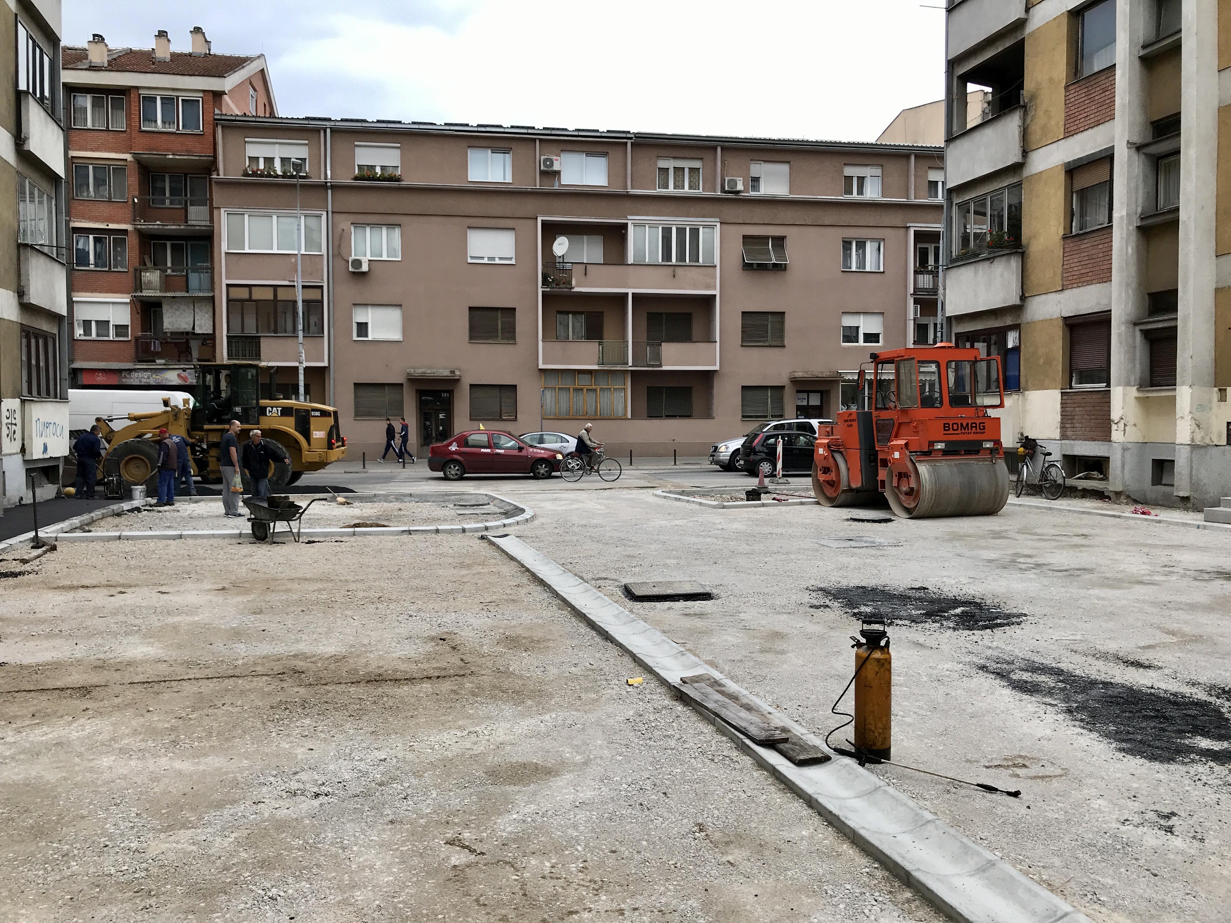 Photo of Završnica uredjenja parkinga izmedju Češalj zgrada