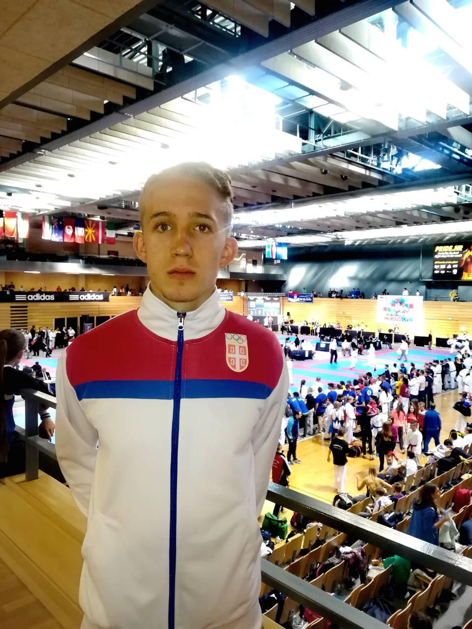 Photo of Lazar Golubović nastupio u dresu reprezentacije na Croatia open
