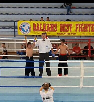 Photo of Ognjen Antić prvak Centralne Srbije u kik boksu, disciplini ful kontakt
