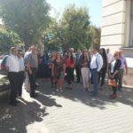 Pirotski advokati protestovali povodom ubistva mladog advokata u Jagodini
