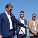 Predsednik Vučić, otvorio 30,5 kilometara istočnog kraka Koridora 10