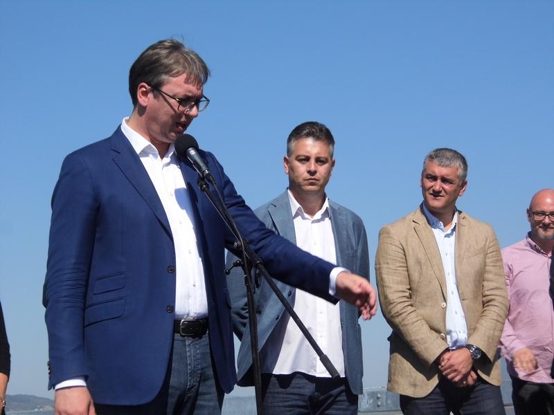 Photo of Predsednik Vučić, otvorio 30,5 kilometara istočnog kraka Koridora 10