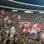 Veliki broj Piroćanaca večeras na Marakani bodri Zvezdu protiv Arsenala