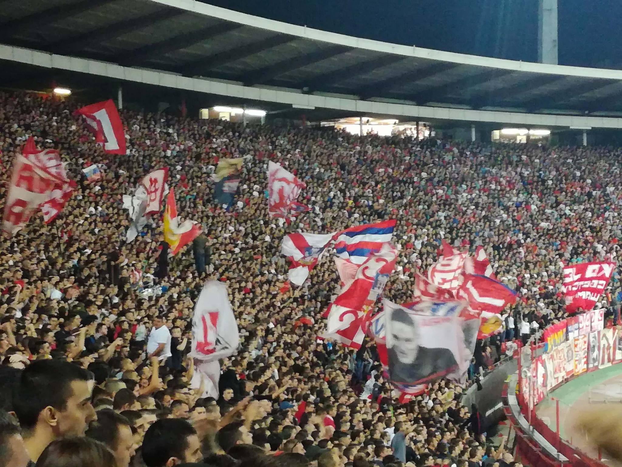 Photo of Veliki broj Piroćanaca večeras na Marakani bodri Zvezdu protiv Arsenala
