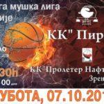 Pirotski košarkaši otvaraju novu sezonu sa starim znancima - odličnom ekipom Proletera