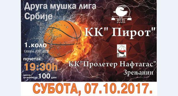 Photo of Pirotski košarkaši otvaraju novu sezonu sa starim znancima – odličnom ekipom Proletera