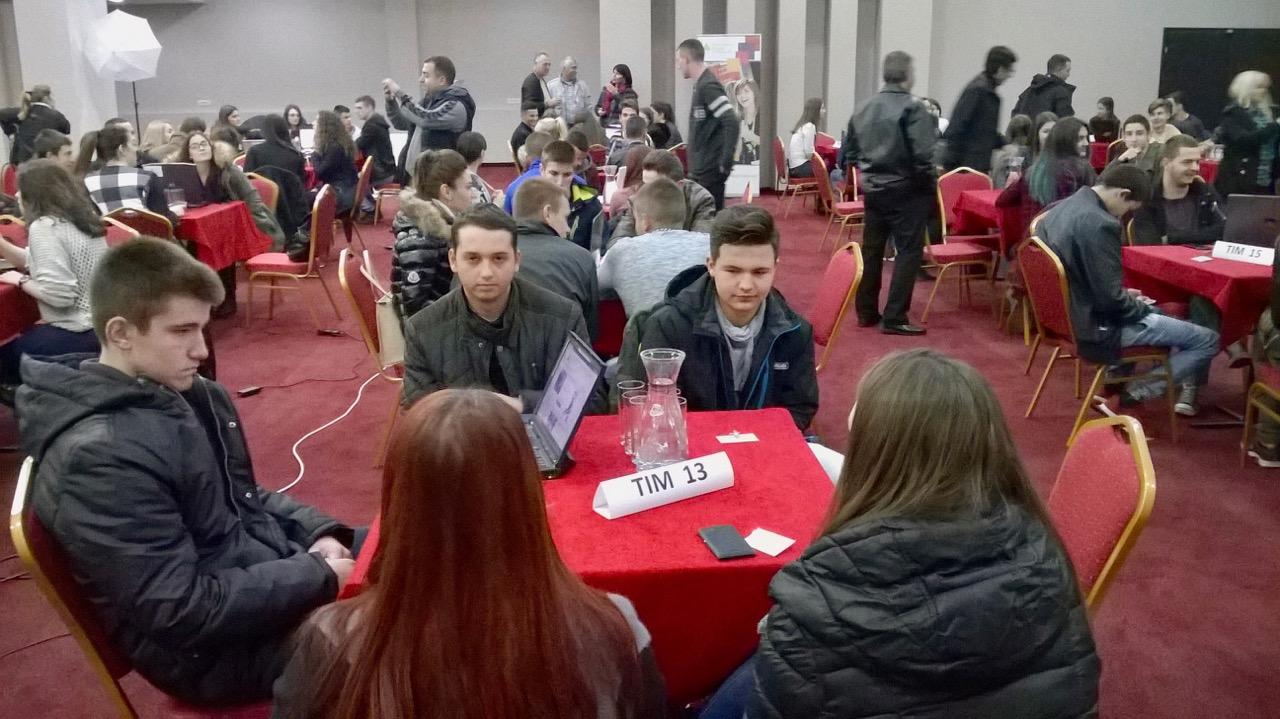 Photo of Učenici Mlekarske škole na Regionalnom takmičenju u preduzetništvu u Leskovcu