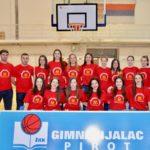 Košarkašice Gimnazijalca ostvarile još jednu pobedu