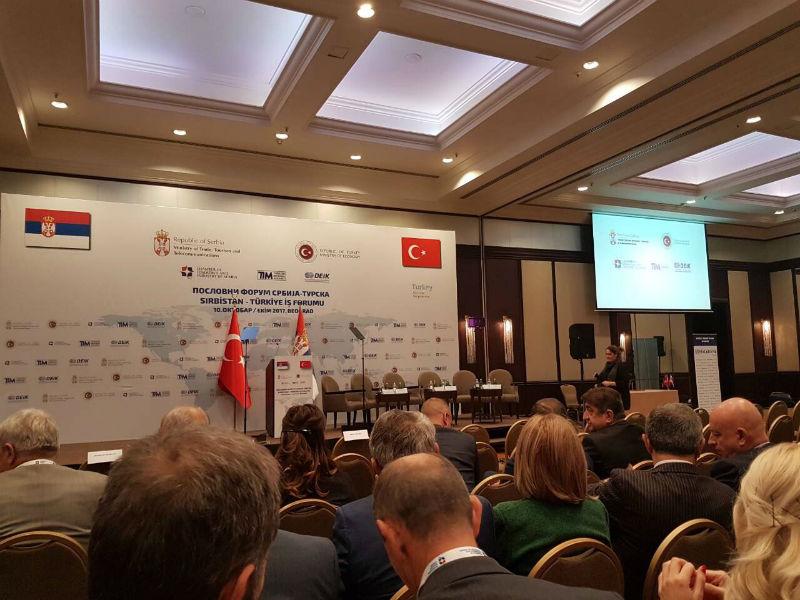 Photo of Predstavnici Slobodne zone Pirot i Tigra AD na Poslovnom forumu Srbija – Turska