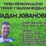 """Memorijalni turnir """"Vladan Jovanović"""" u nedelju u hali """"Kej"""""""