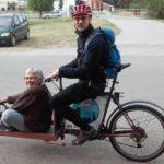 Prvi pirotski velotaksi (foto)