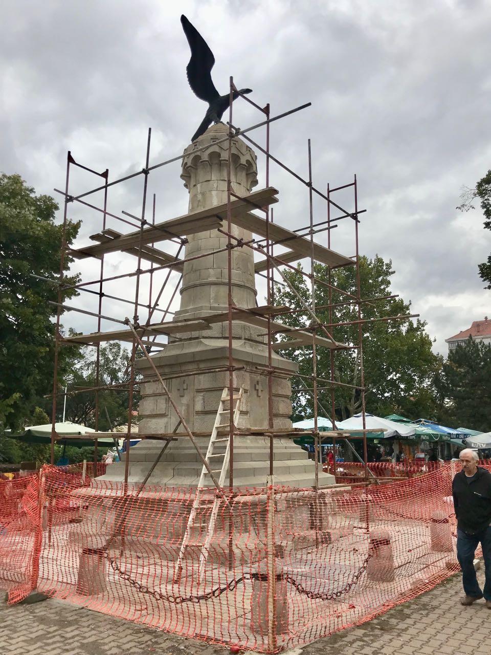Photo of Rekonstruiše se spomenik oslobodiocima Pirota u Tijabari