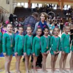 """Zlato za pirotske """"Sirene"""" na Prvenstvu Srbije u ritmičkoj gimnastici"""