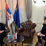 Vasić sa ambasadorom Švedske u Nišu