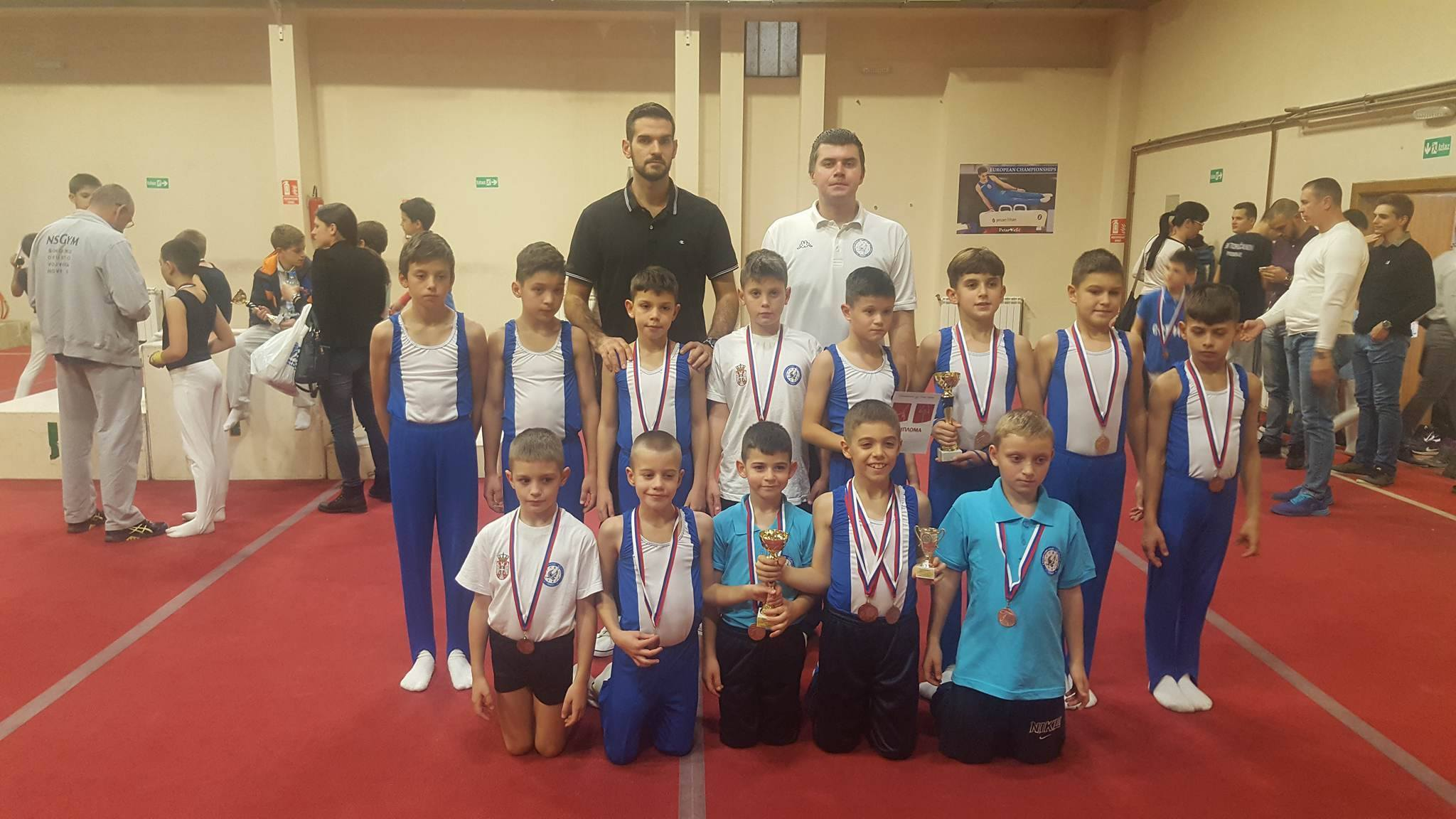 Photo of Medalje za pirotske gimnastičare