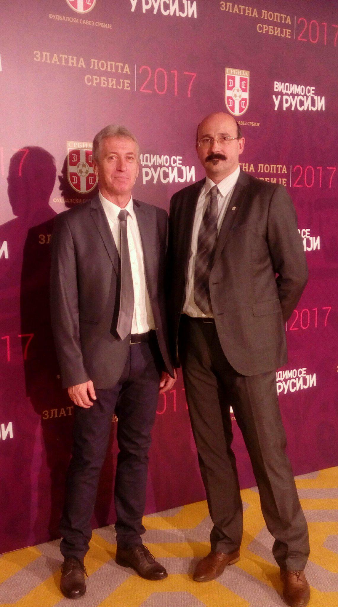 Photo of Predstavnici Radničkog na Dodeli zlatne lopte FSS u Beogradu