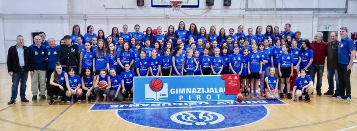 """Photo of Dve decenije Ženskog košarkaškog kluba """"Gimnazijalac"""""""