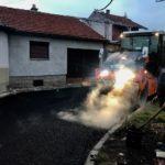 Asfaltiranje u ulici Dragoljuba Milenkovića za kraj veoma uspešne građevinske sezone