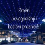 Novogodišnje čestitke - Srećna Nova 2018. godina!