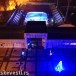 Gradsko klizalište – pogled iz ptičje perspektive (Video)