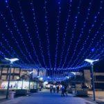 """Zasijalo pirotsko """"plavo nebo"""", novogodišnja atmosfera u gradu"""
