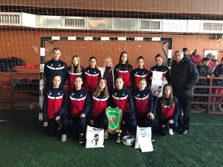 Photo of Fudbalerke Jedinstva prve na međunarodnom turniru u Bugarskoj
