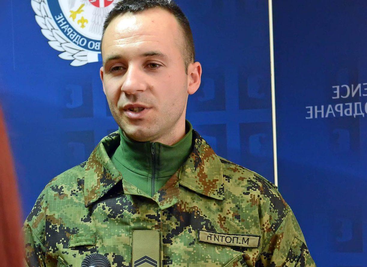 Photo of Herojski čin pripadnika Vojske Srbije – spasio devojčicu iz Nišave