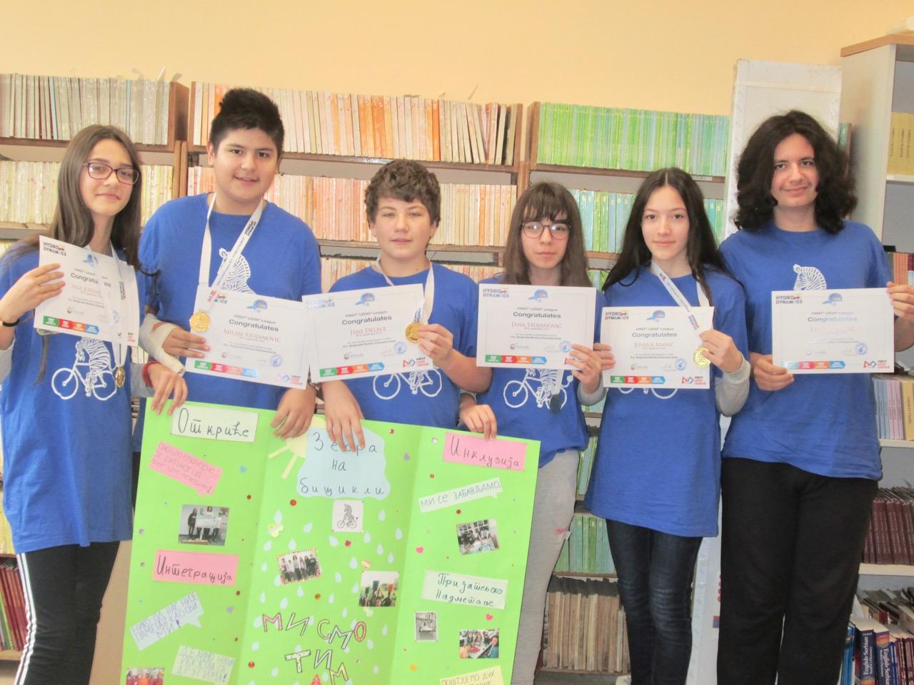 Photo of Pirotski đaci deseti na Državnom turniru