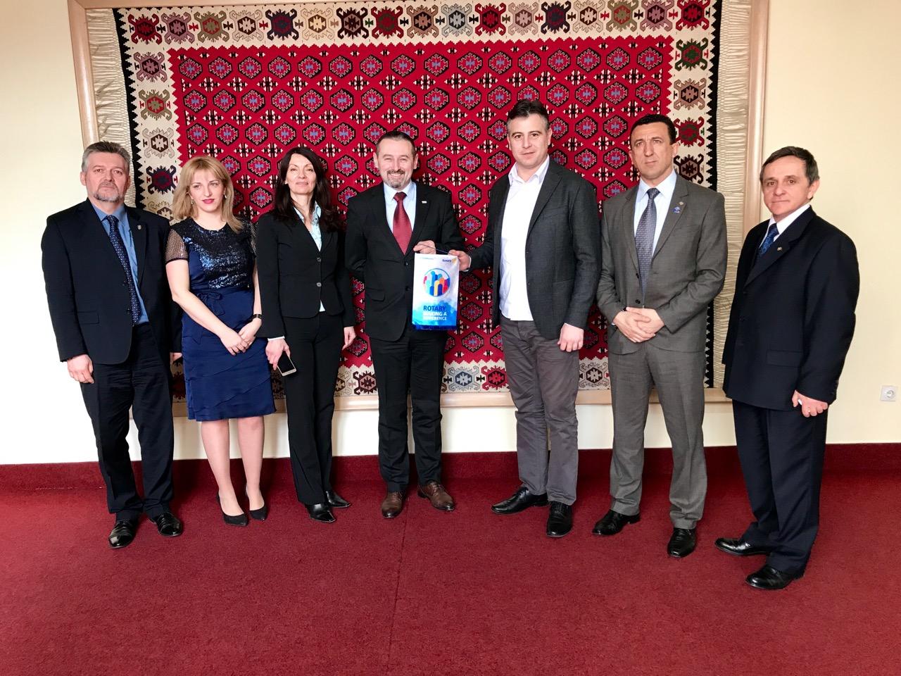 Photo of Prijem za predstavnike Rotarija u kabinetu gradonačelnika
