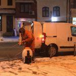 Zima se ne predaje, ekipe Komunalca od noćas na terenu