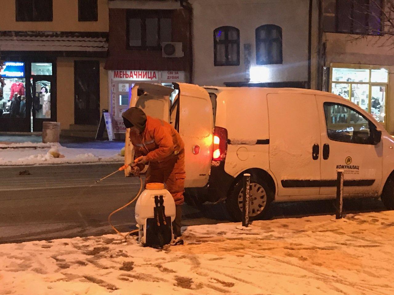 Photo of Zima se ne predaje, ekipe Komunalca od noćas na terenu