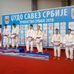 Džudisti uspešni na Prvenstvu Srbije u Beogradu