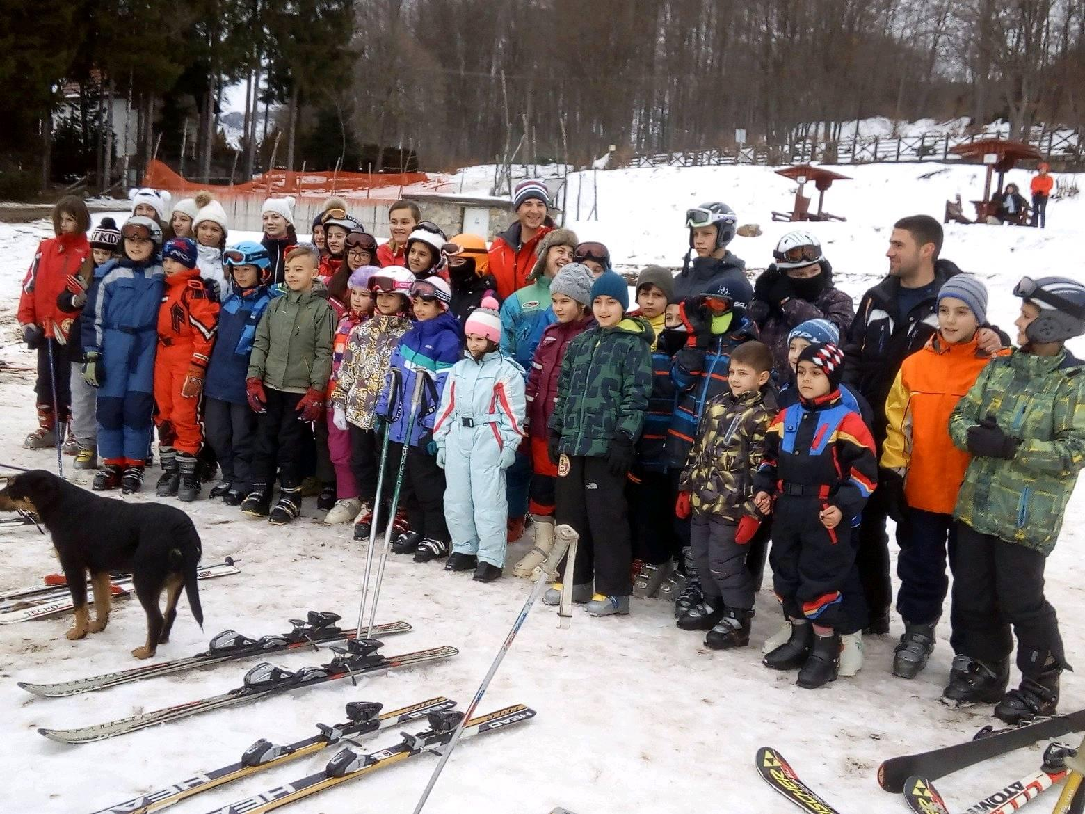 Photo of Ogromno interesovanje za Školu skijanja Božićne škole sporta