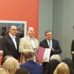Mlekarska škola dobitnik plakete sa zlatnikom na 13. Međunarodnom Sajmu obrazovanja u Novom Sadu