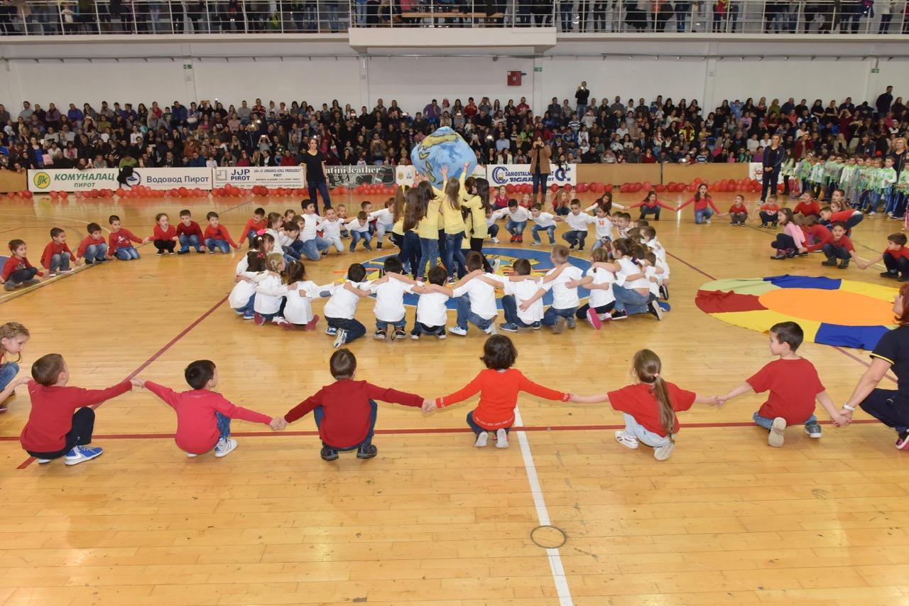 """Photo of Velikom priredbom u kojoj je učestvovalo preko 600 mališana obeležen jubilej PU """"Čika Jova Zmaj"""""""