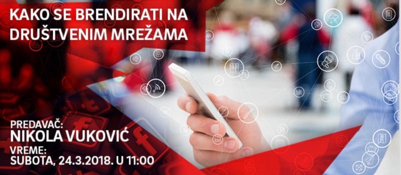 Photo of Besplatni seminar: Kako se brendirati na društvenim mrežama?