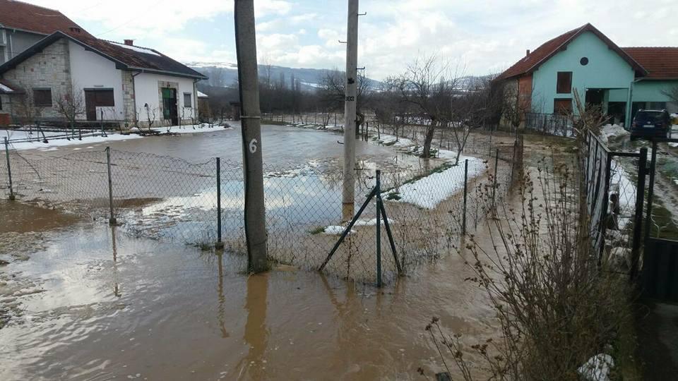 Photo of Izlio se kanal u selu Blato, odron na putu ka Nišu