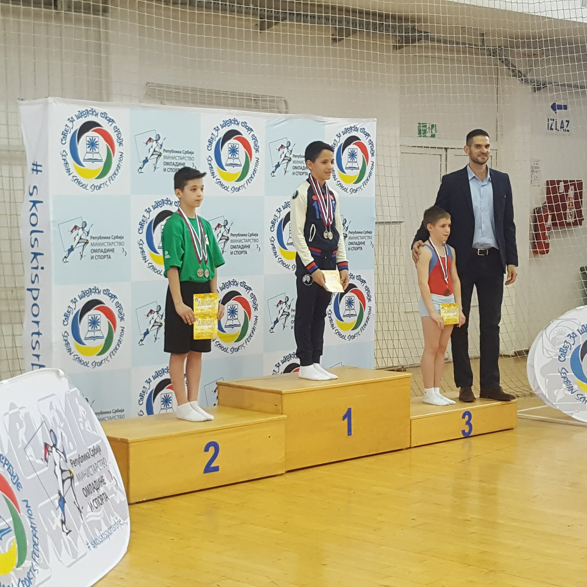 """Photo of U hali """"Kej"""" Državno školsko muško i žensko gimnastičko prvenstvo"""