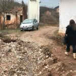 Bujica odnela put u selu Prisjan