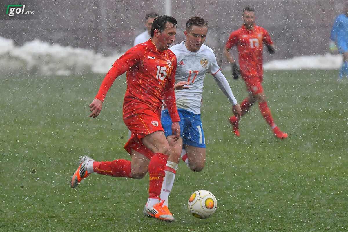 Photo of Filip Stojanovski najbolji igrač Makedonije u meču protiv Rusije