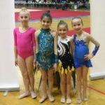 """Dva zlata za devojčice iz Kluba ritmičke gimnastike """"Sirene"""" iz Pirota"""
