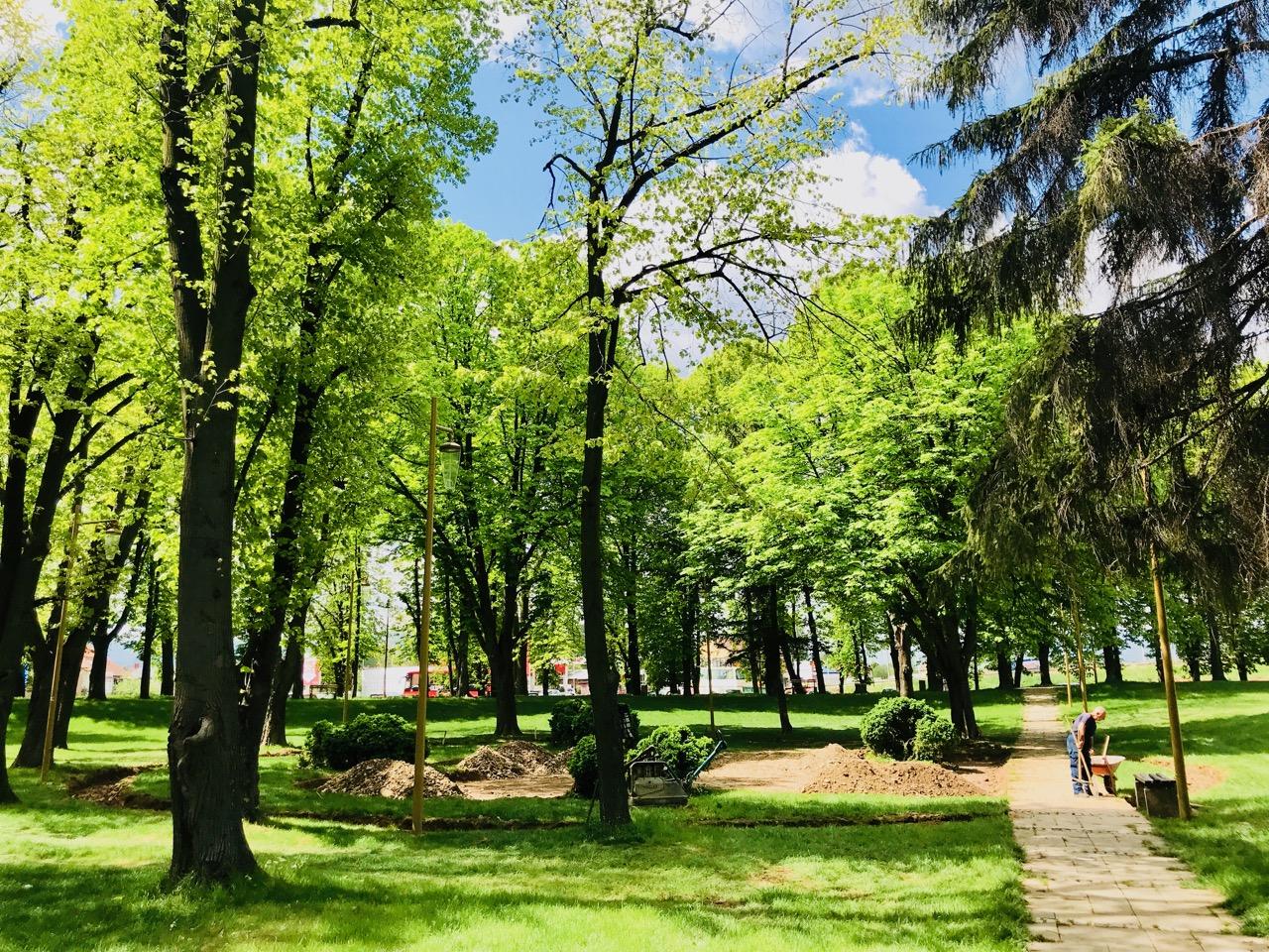 Photo of Nastavlja se uređenje parka na Kaleu – novog zaštitnog znaka našeg grada