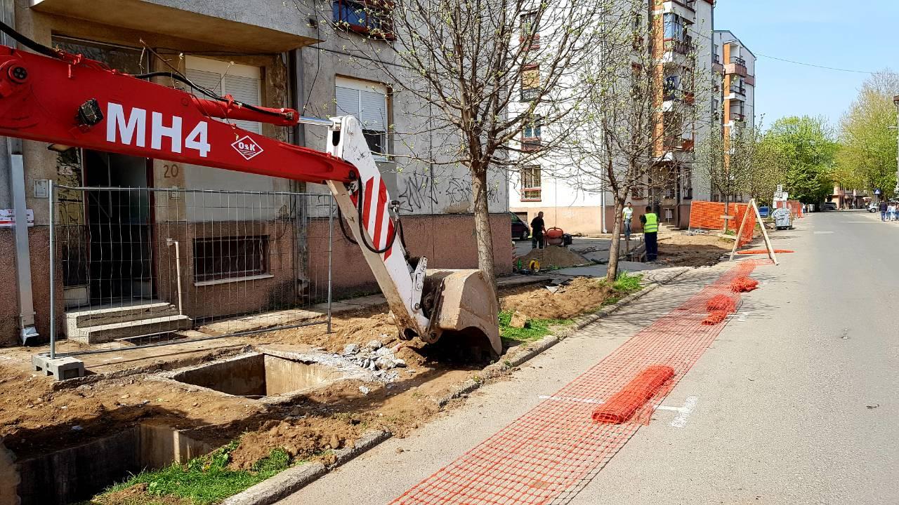 Photo of Počela prva faza uređenja Takovske ulice