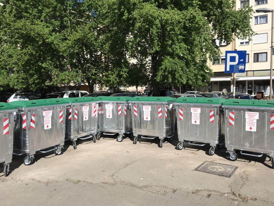 Photo of Postavljeni novi kontejneri u gradu, odlaganje smeća biće još lakše