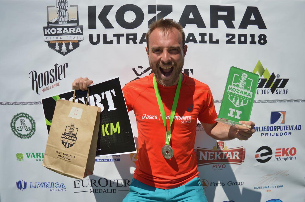 Photo of Piroćanac osvojio srebro na jednoj od najtežih planinskih trka na Balkanu – Kozara ultra trail