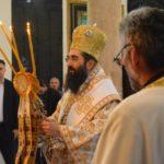 Vladika Arsenije služio jutros liturgiju  na Vaskrsni utorak u Tijabarskoj crkvi