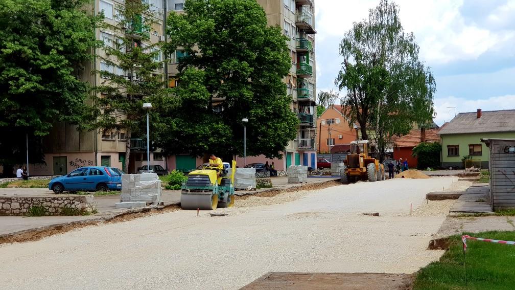 Photo of Počeli radovi u ulici Svetozara Markovića