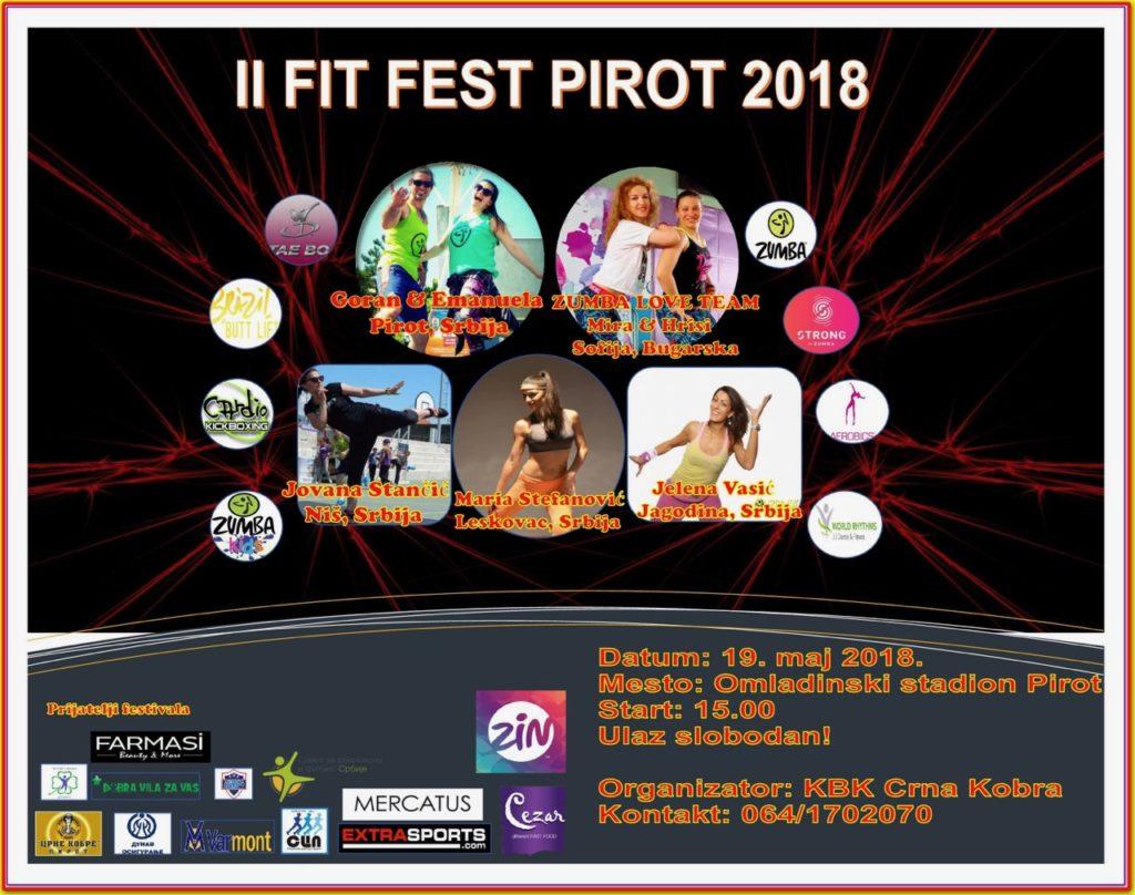 Fit fest u Pirotu – drugi po redu